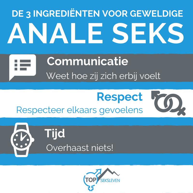ingrediënten voor geweldige anale seks