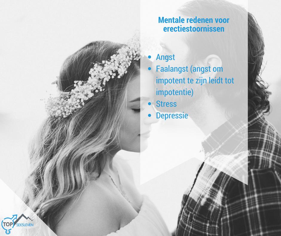 mentale oorzaken van erectiestoornissen
